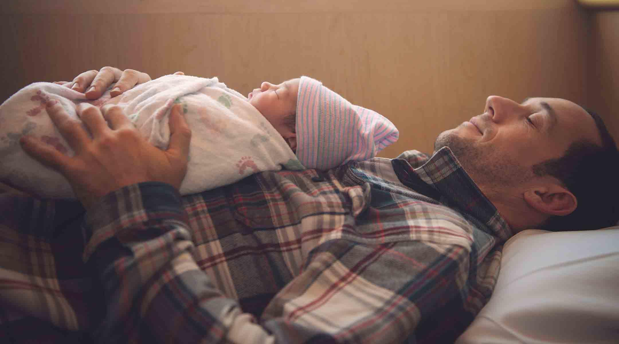 more sleep and less stress raising young children