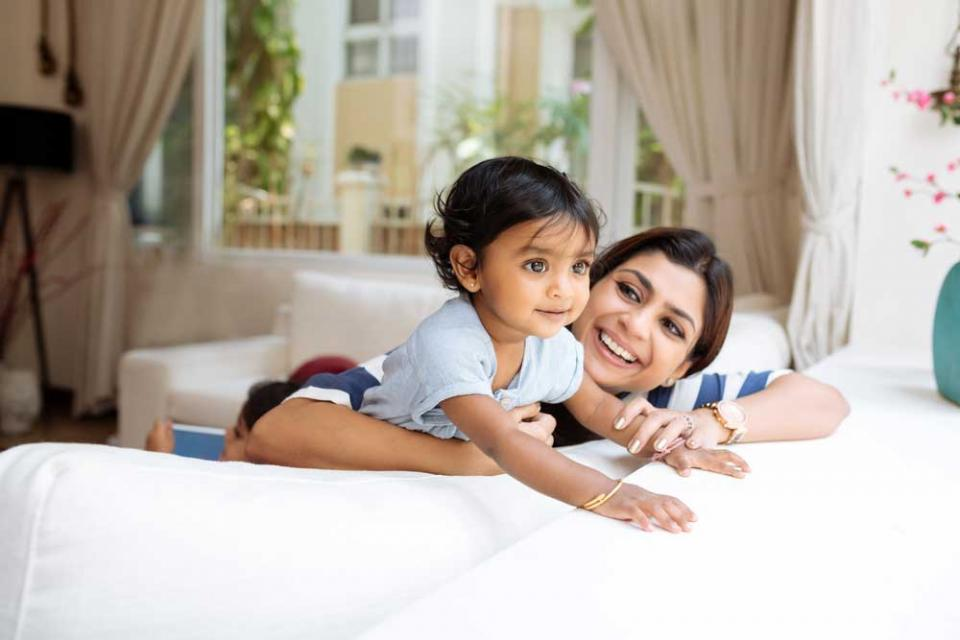 Mums Working Part-Time is Best For Children's Health